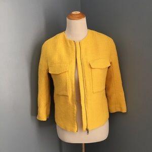 Yellow H&M jacket
